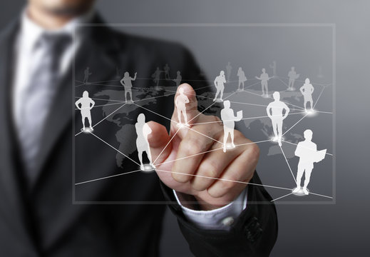 pushing social network