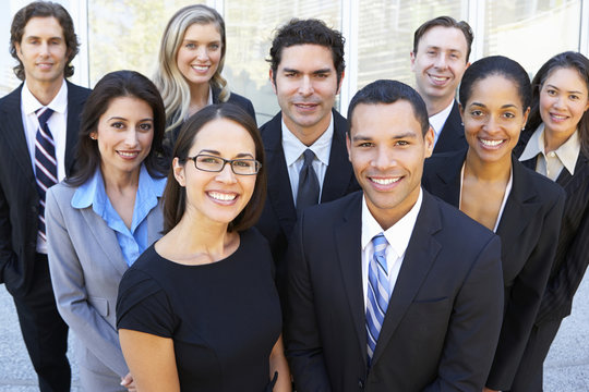 Group picture of Business Team